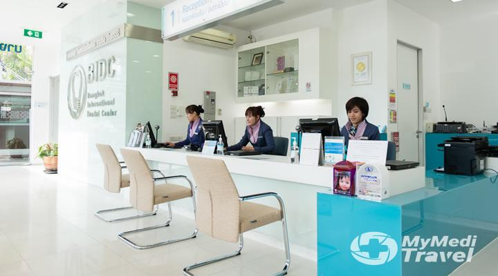 Bangkok International Dental Center in Bangkok, Thailand